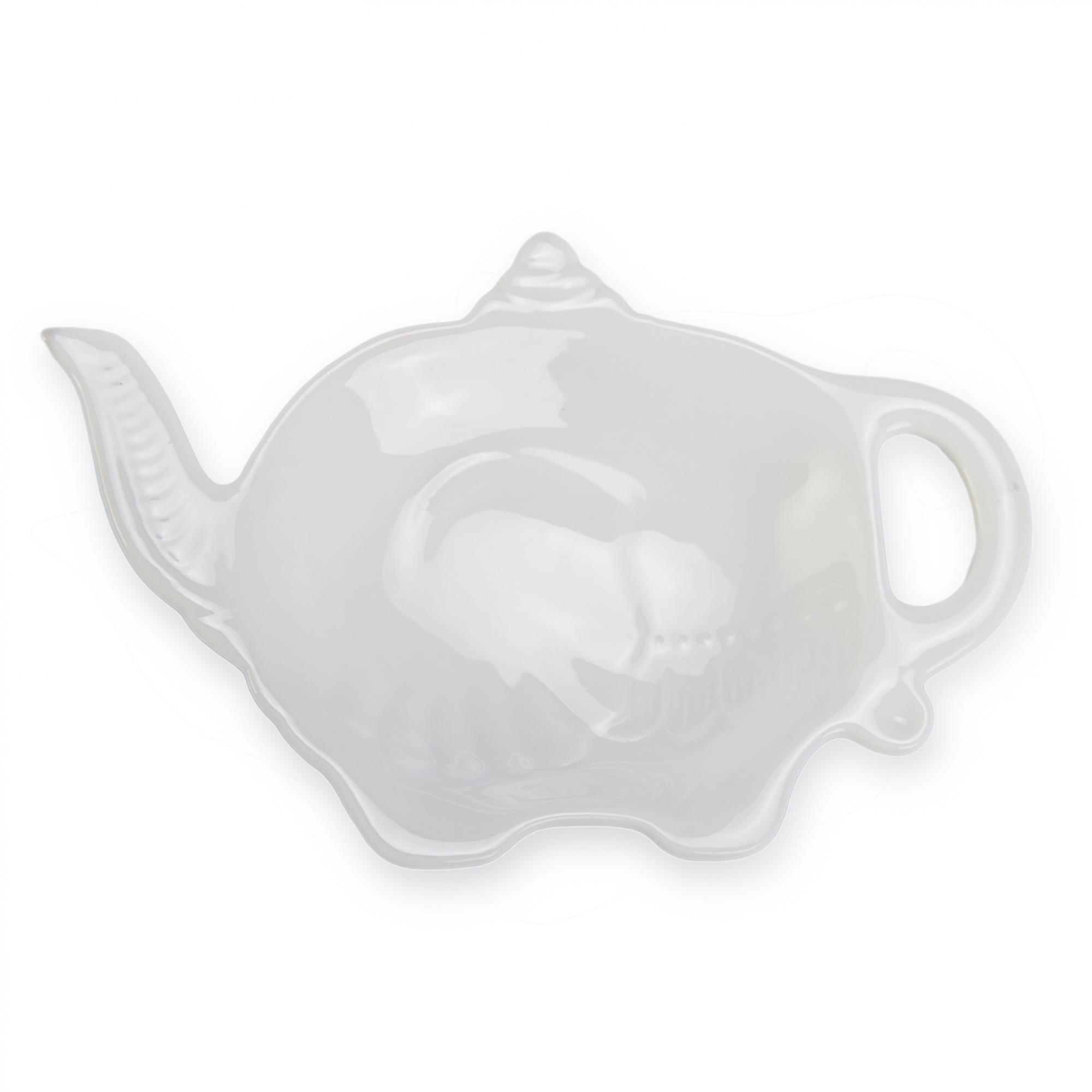 BN Hen and Chick Tea Bag Tidy Porcelain Chicken Tea Bag Holder Tea Bag Rest