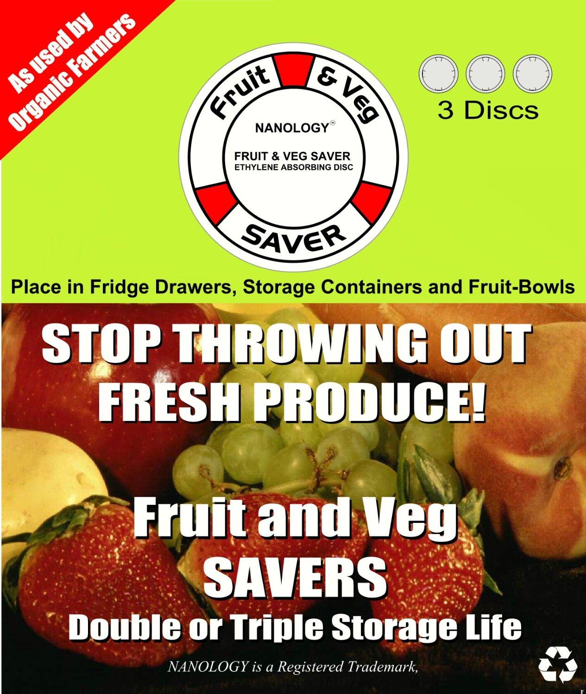 Nanology fruits et légumes Savers 3 disques