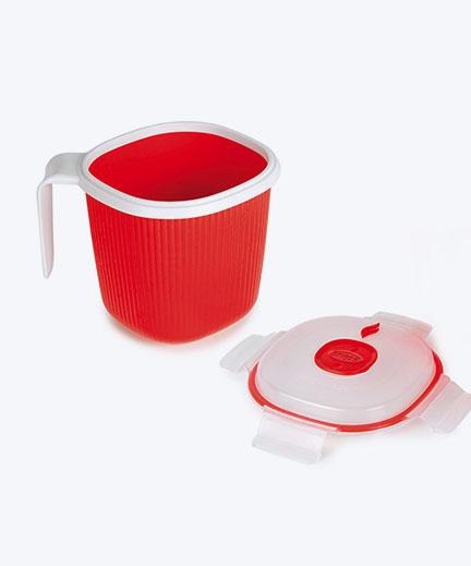 Snips Mikrowelle Tee,Milch /& Suppe Wärmer 0.7L Becher Wärmer